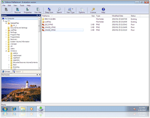Screen Shoot Odboso File Retrieval